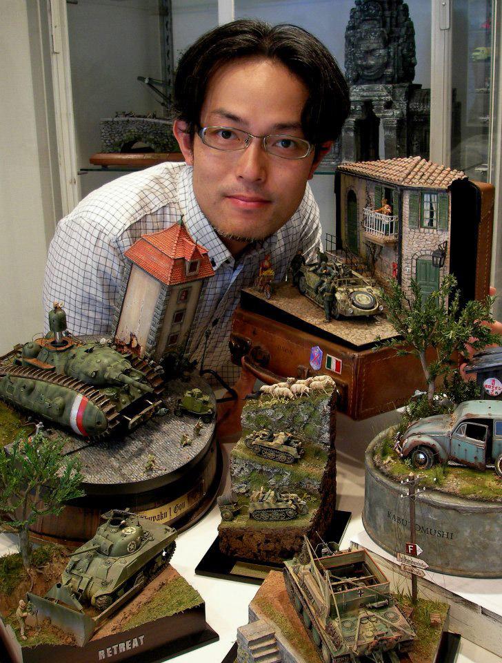 satoshi araki miniaturas diorama 11
