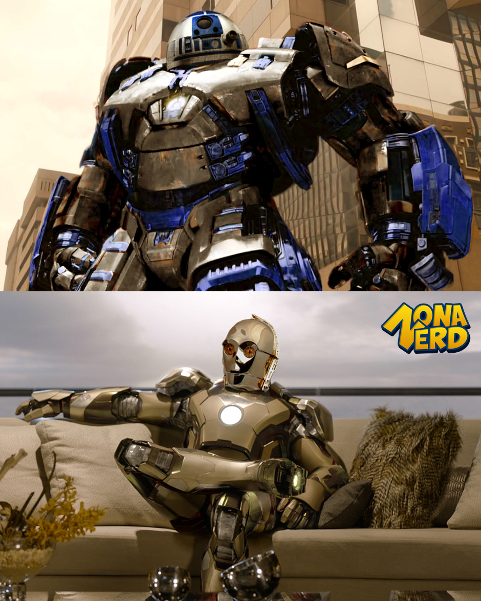 c3po hulkbuster r1-d2 mark iron man