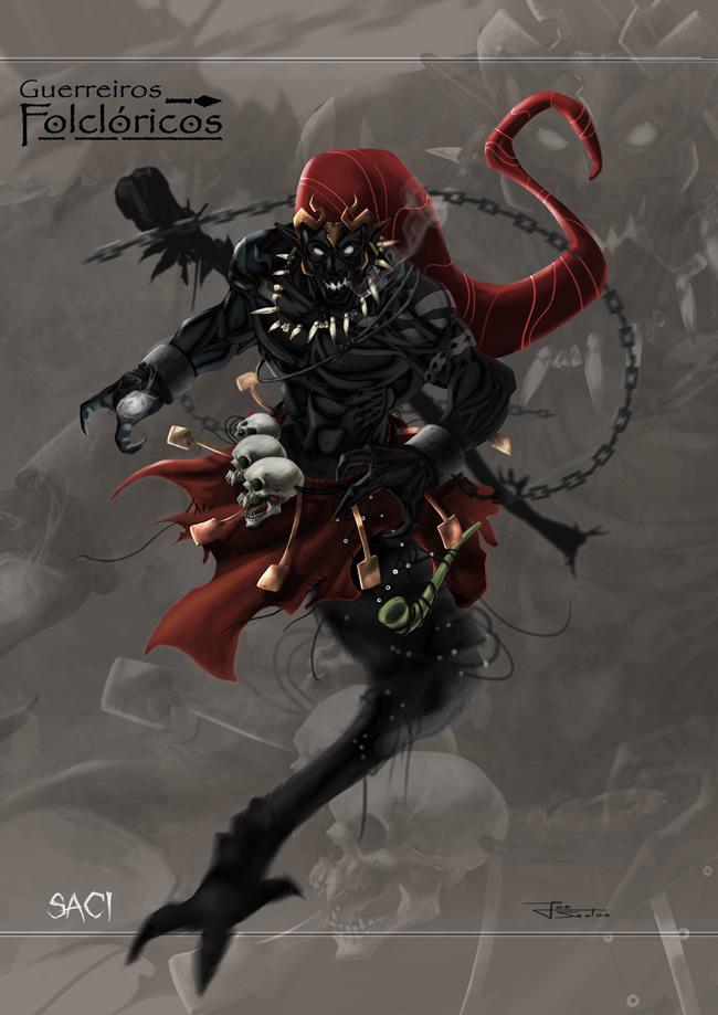 guerreiros folcloricos 1 saci