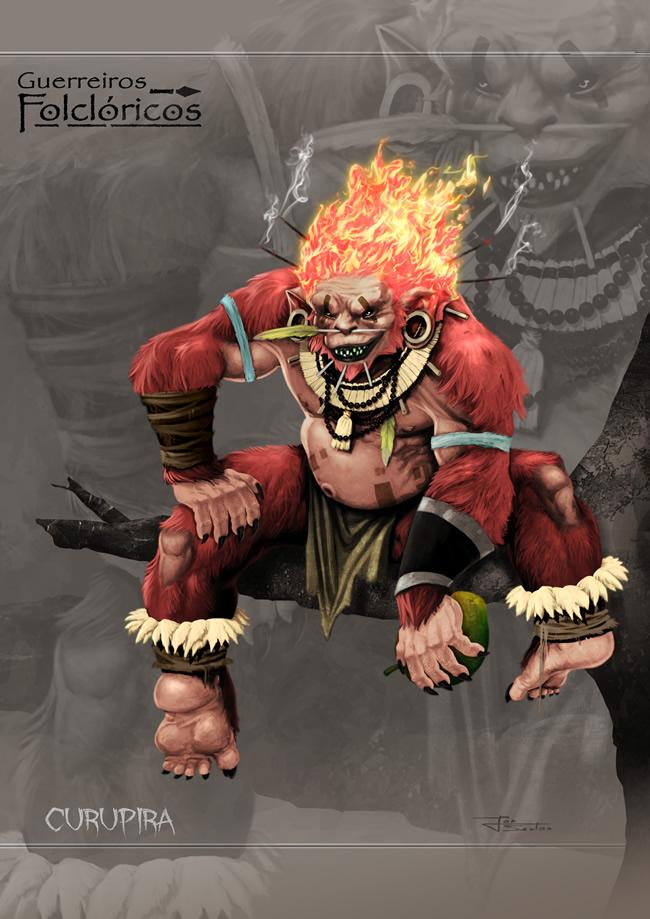 guerreiros folcloricos 2 curupira