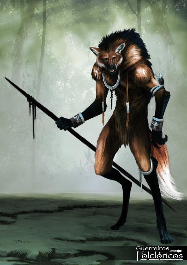 guerreiros folcloricos 5 lobisomem