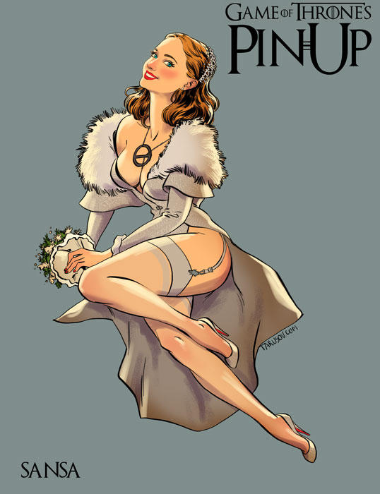 game of thrones pin up 03