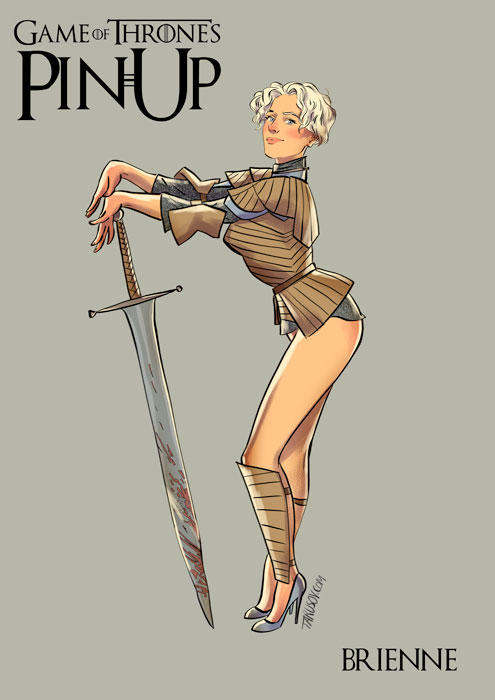 game of thrones pin up 06