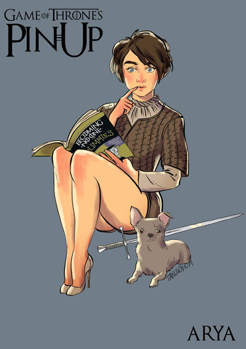 game of thrones pin up 07