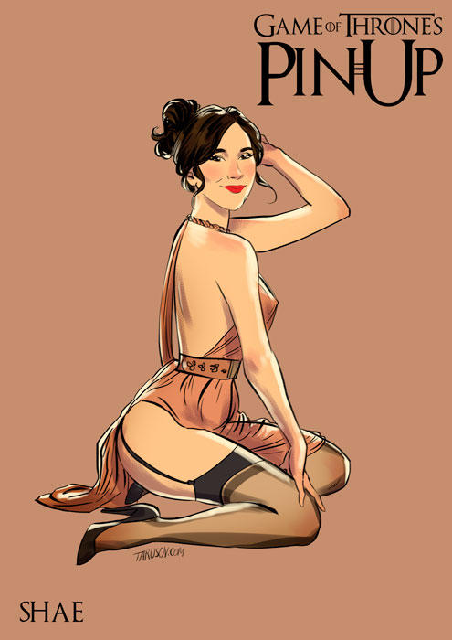 game of thrones pin up 08