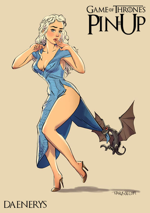 game of thrones pin up 13