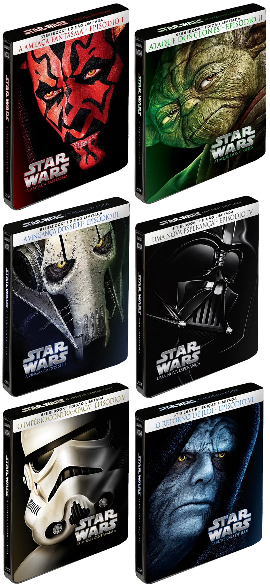 star wars steelbook blu-ray zona nerd