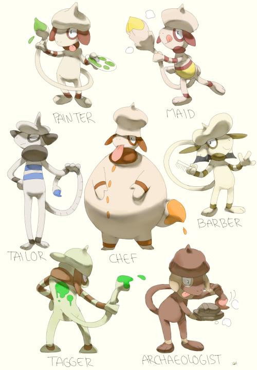 variacoes pokemons especies anime jogo 5