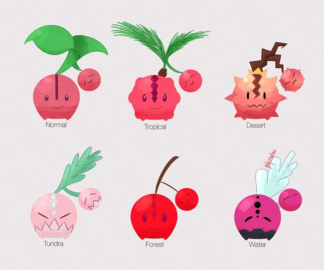 variacoes pokemons especies anime jogo 6