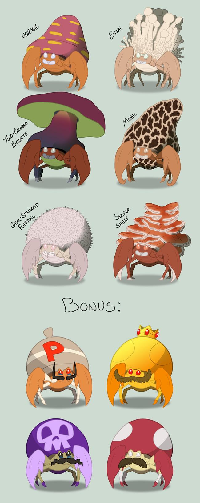 variacoes pokemons especies anime jogo 7