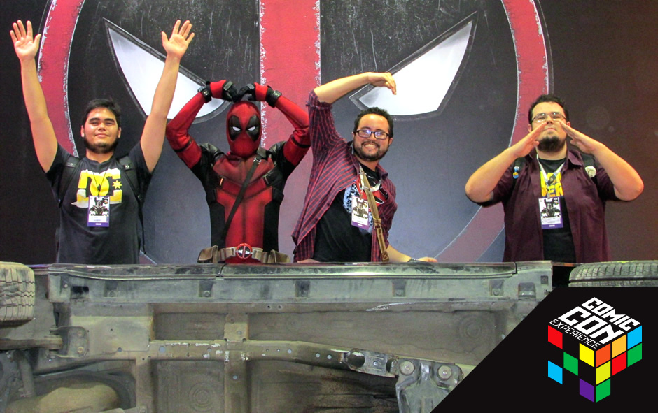 comic con experience 2015 ccxp review como foi deadpool