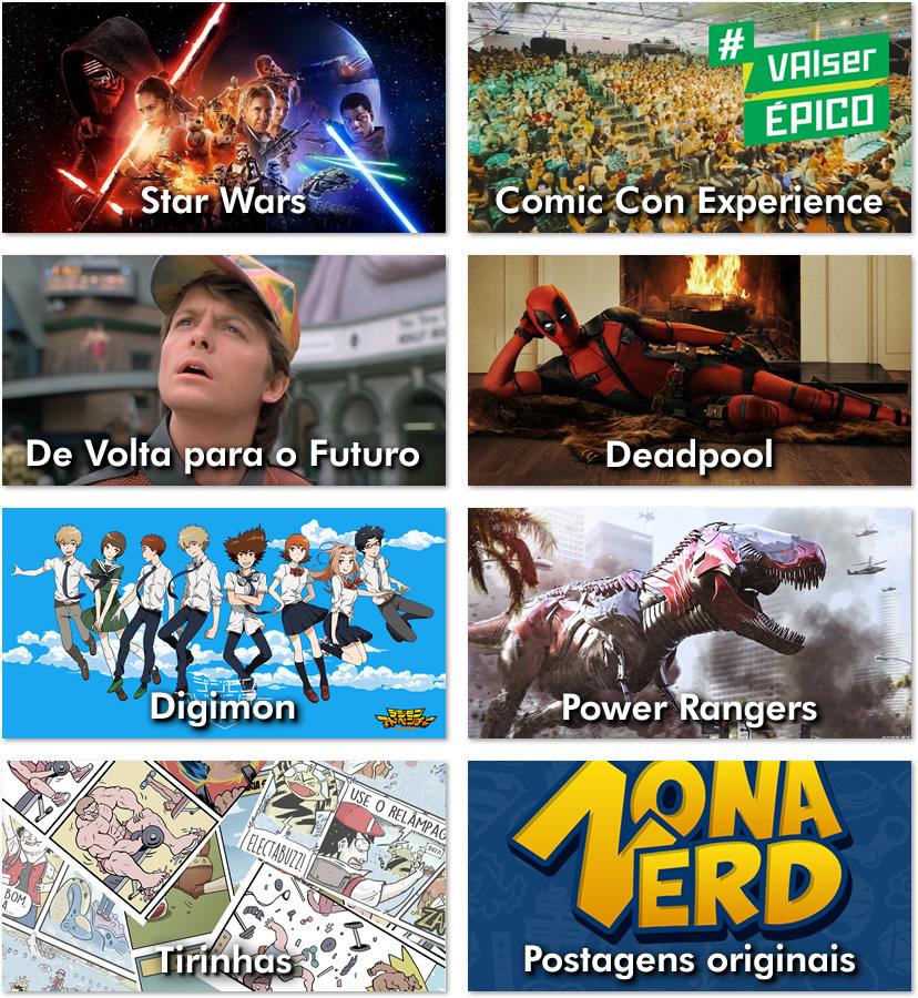 destaque o melhor de 2015 zona nerd