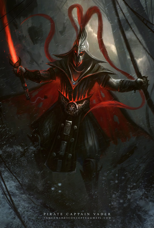 versao alteranativa redesign darth vader 02