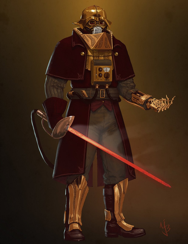 versao alteranativa redesign darth vader 07