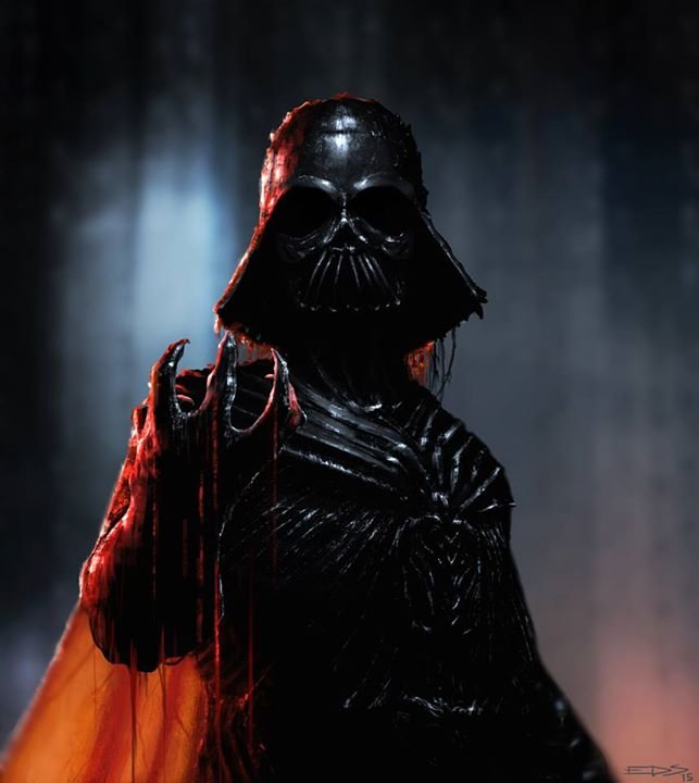 versao alteranativa redesign darth vader 08