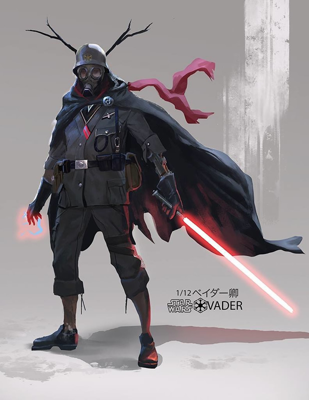 versao alteranativa redesign darth vader 11