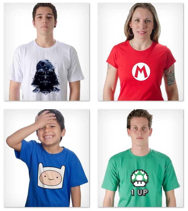 camisetas criativas online comprar barato