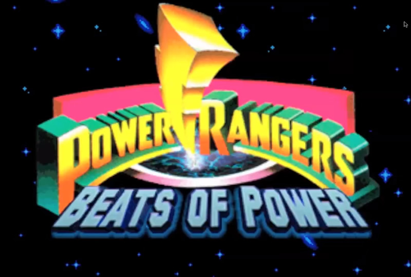 power rangers beats of power zona nerd