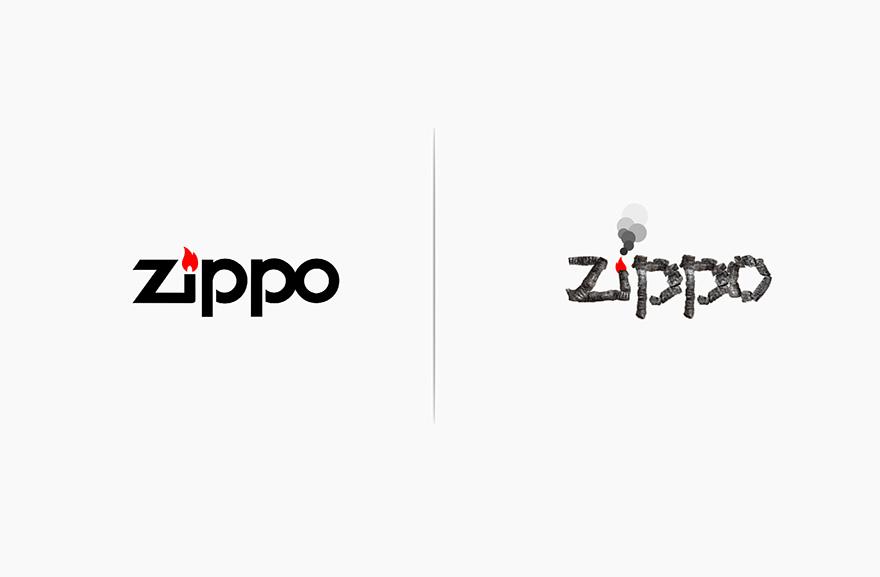 designer logo famoso afetado produto marca 10