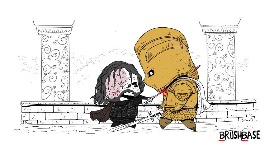 ilustracao encontro game of thrones personagens nao vai acontecer 03