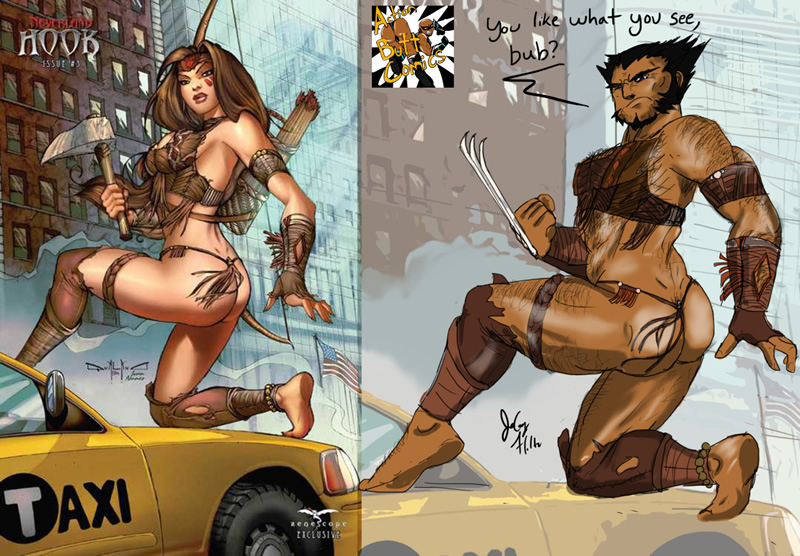 mulheres quadrinhso sexualizadas 07