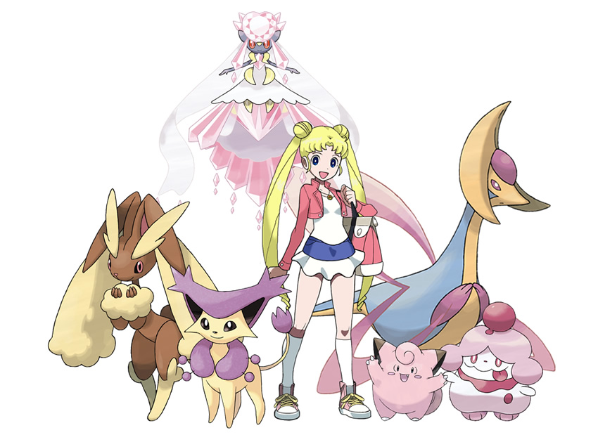 sailor moon pokemon mashup 01