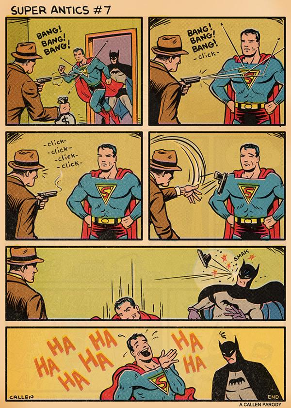 superman sempre babaca