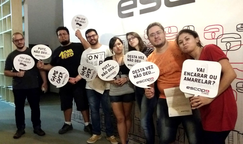 zona nerd escape time derrota sala z-virus