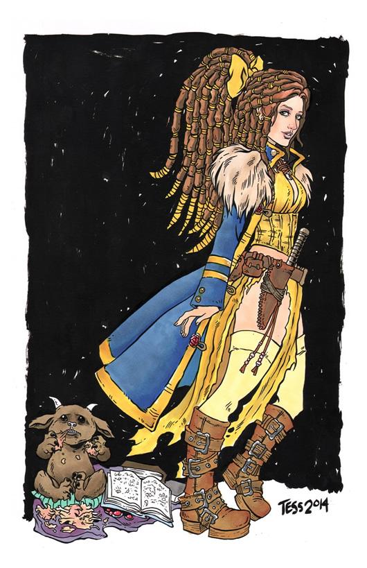 princesas disney pos apocaliptico 10