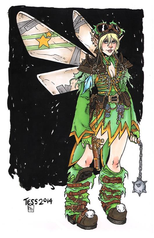 princesas disney pos apocaliptico 11