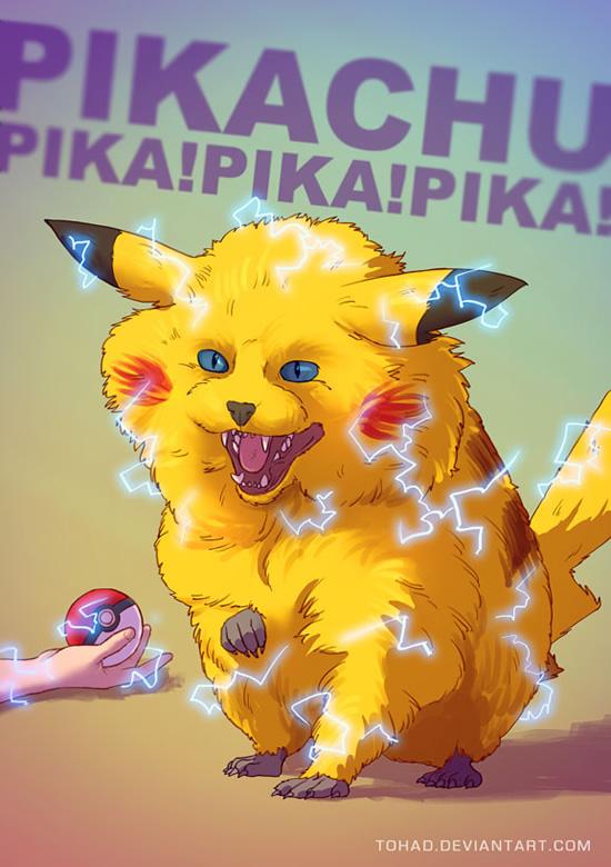tohad badass 6 pikachu