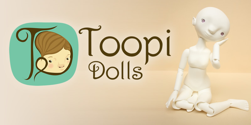 toopi dolls ball joined doll brazil