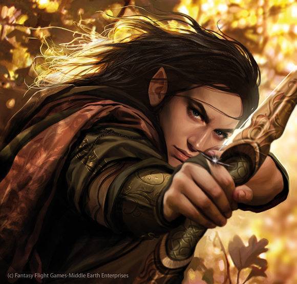 magali villeneuve lord of the rings 01