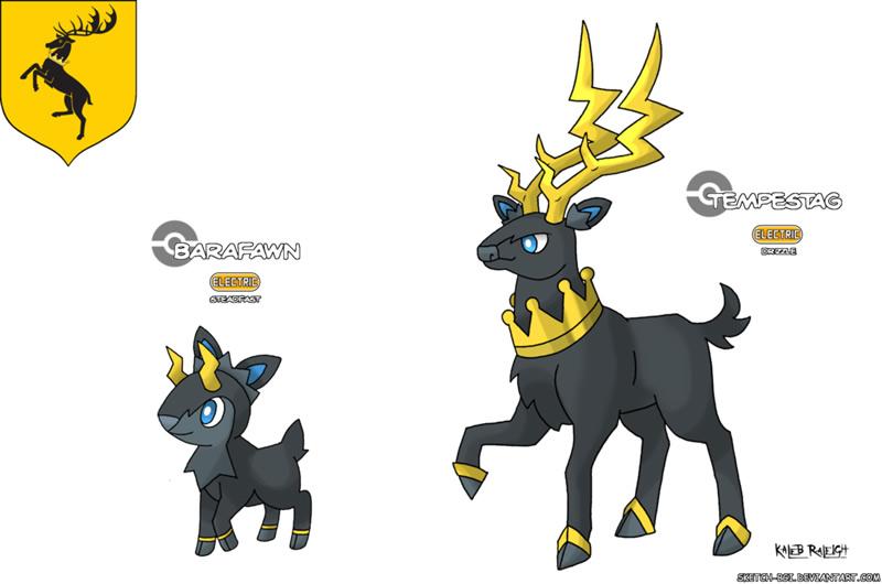 pokemon game of thrones casas 04
