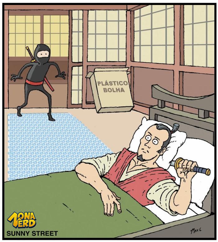 sistema de seguranca samurai