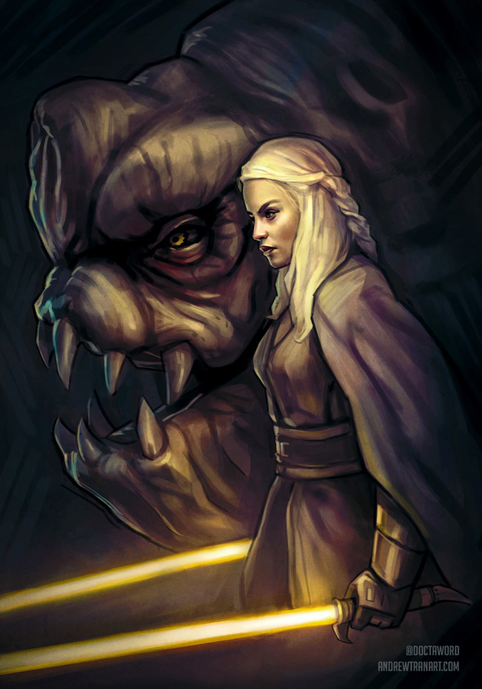 star wars game of thrones 2 daenarys
