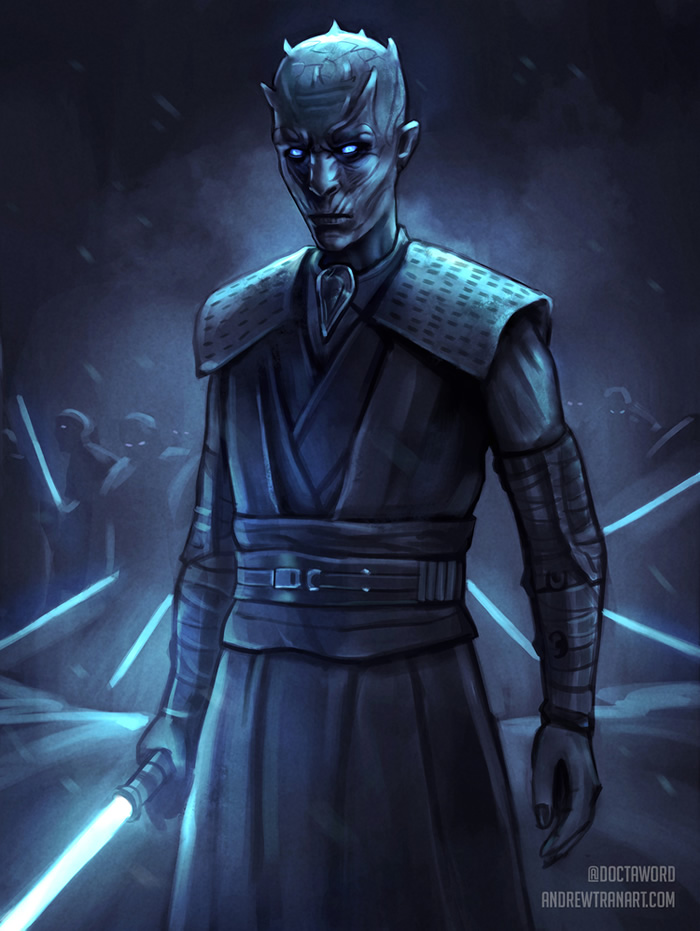 star wars game of thrones 5 nightking