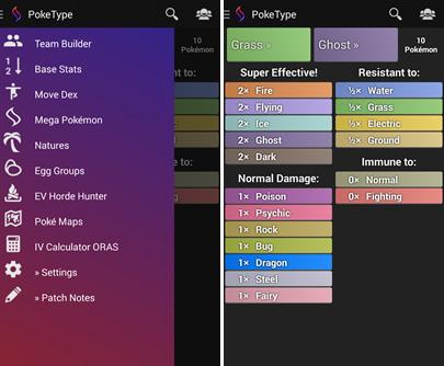 pokemon type app