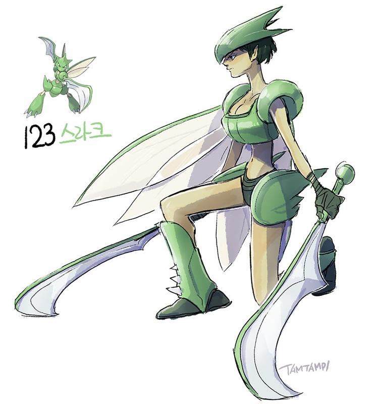17-scyther-humano