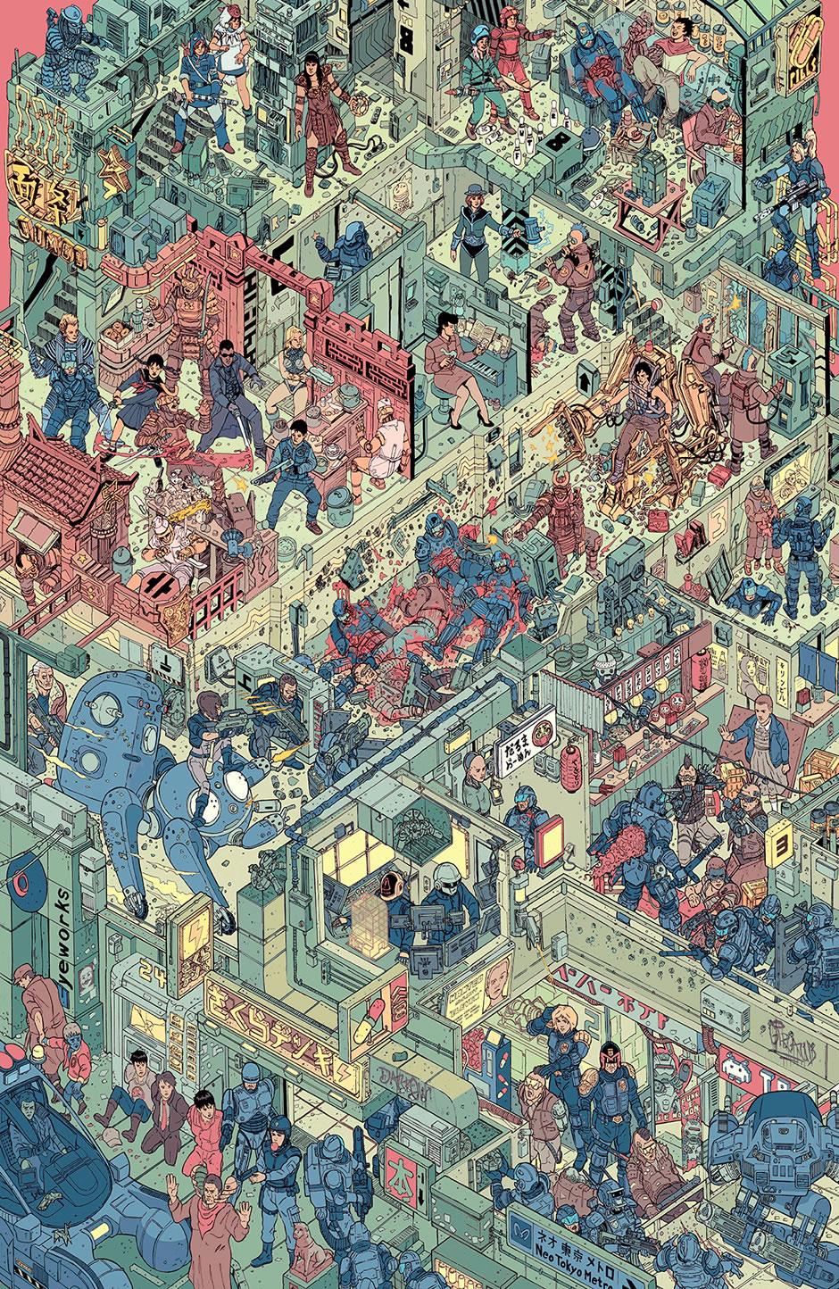 poster-the-raid-cyberpunk-fanart-1
