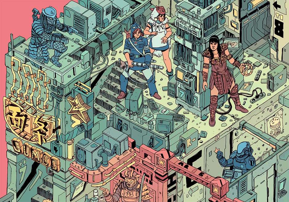 poster-the-raid-cyberpunk-fanart-2