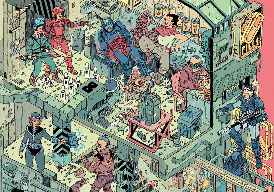 poster-the-raid-cyberpunk-fanart-3