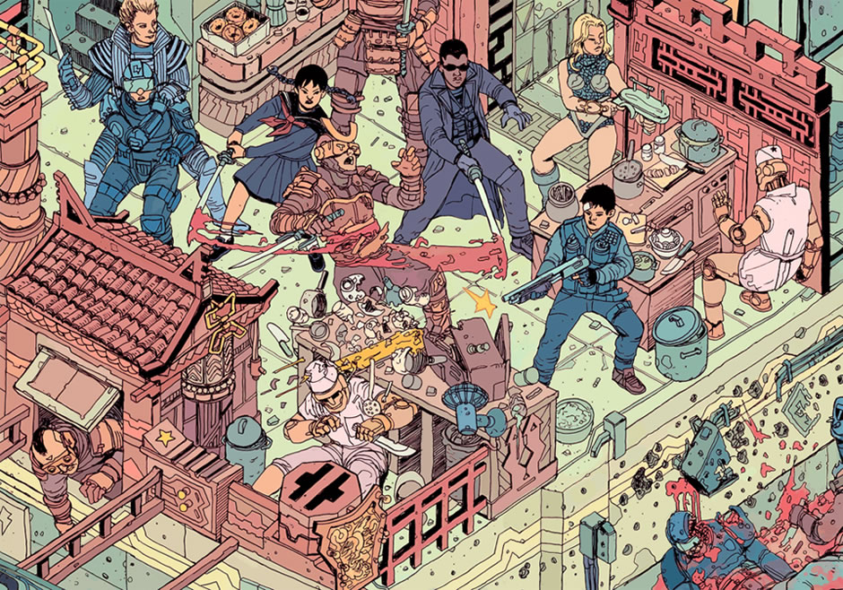 poster-the-raid-cyberpunk-fanart-4