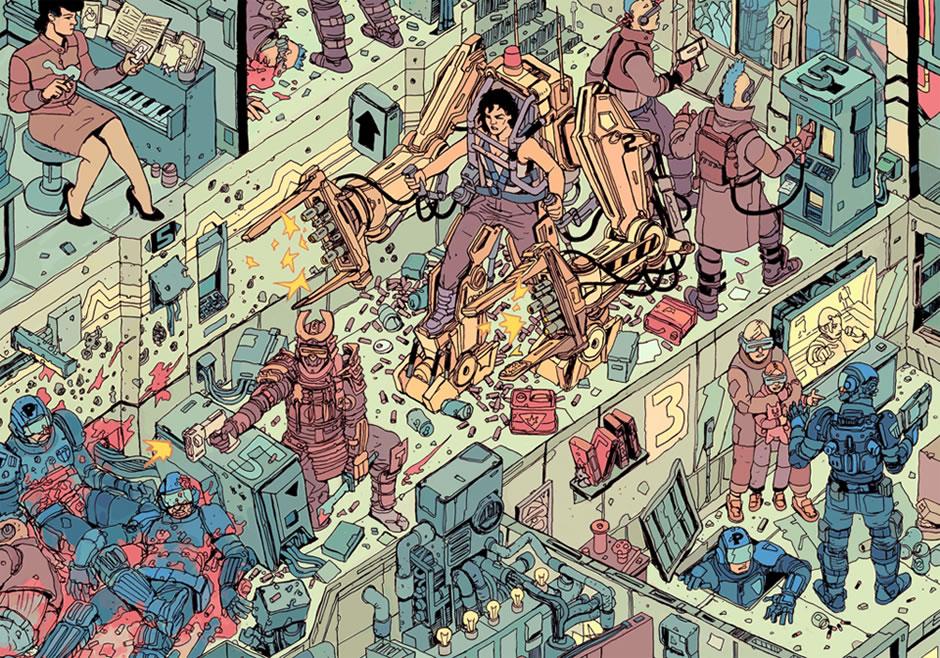 poster-the-raid-cyberpunk-fanart-5