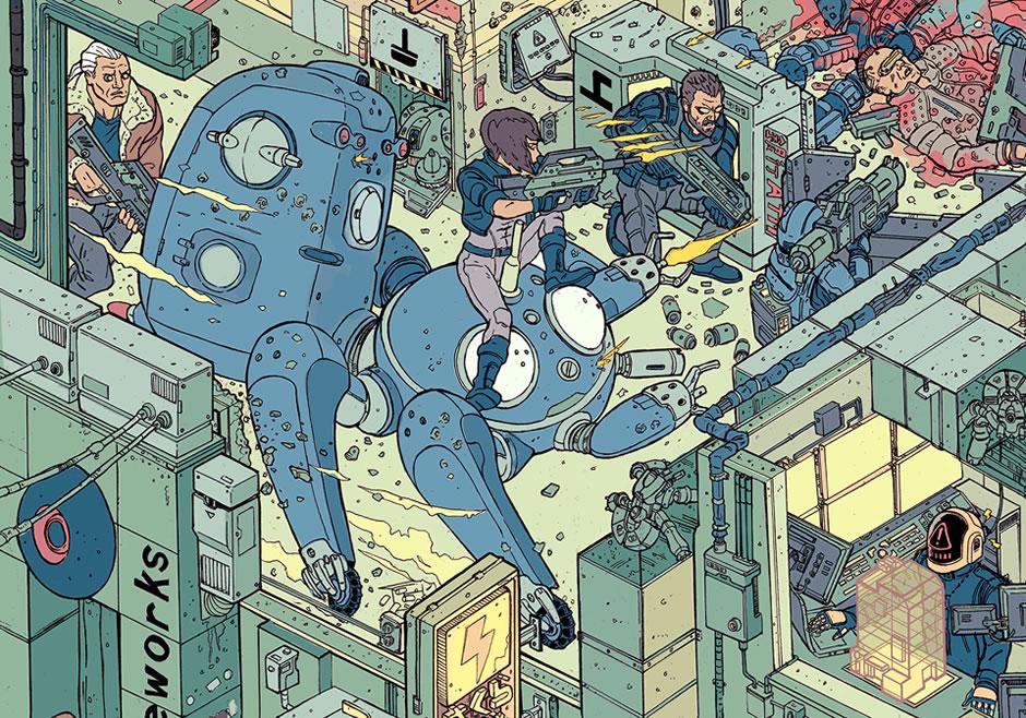 poster-the-raid-cyberpunk-fanart-6
