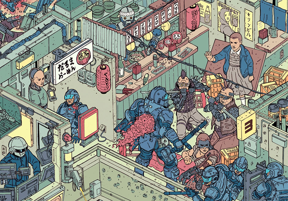 poster-the-raid-cyberpunk-fanart-7