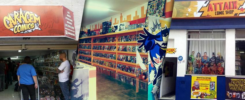 c834daca3 Resolvi juntar todas as lojas de quadrinhos e semelhantes da cidade e fazer  um resumo rápido delas